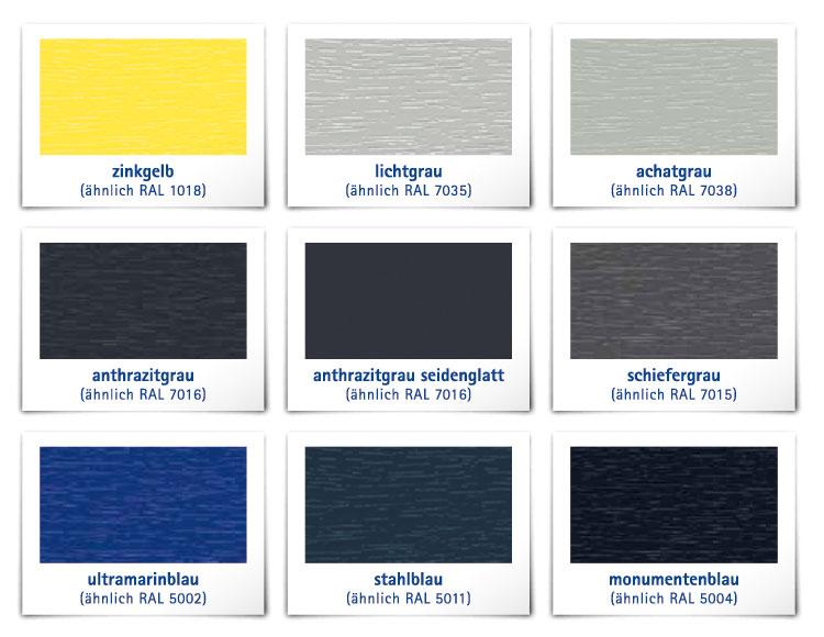 Kunststofffenster ral farben  ALPHALINE 90 | Fenster-Fabrik24